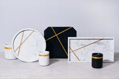 Presenting the Debut Marble Collection: Linear by Resident GP. Styling by Natalie Turnbull   Photography by Elise Wilken