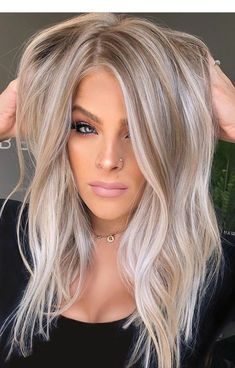 Fantastic balayage hair color ideas and colors for women .- Fantastische Balayage Haarfarbe Ideen und Farben für Frauen 2019 fine fantastic balayage hair color ideas and colors for women 2019 - Blonde Hair Looks, Brown Blonde Hair, Blonde Fall Hair Color, Cool Ash Blonde, Blonde Brunette, Light Blonde Hair, Short Blonde, Best Blonde Hair, Hair Trends