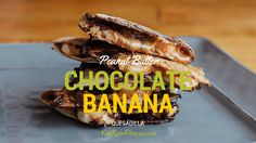 "Chocolate, peanut butter, and banana Quesadilla. This sweet quesadilla tastes like it should be off-limits in any healthy diet, but every once in a while you can ""cheat clean"" with one of these. This is a great 21 Day Fix #dessert www.kimrowfitness.com"