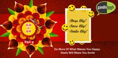 Diwali Dhamaka…!!! Gandhibagh.com presents festive essentials at prices that will make your #Diwali even more special.   #KamMeBam Sale #KhushiyonKiThaili #Achhi_Adat_Behtar_Zindagi #Wholesale_Ke_Bhav_Ghar_Pe_Pao #FreeHomeDelivery #NoMinimumCart Iss Diwali Bas Order Kijiye!