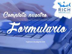 ¿Quieres comunicarte con nosotros?     - - Ingresa a nuestro sitio web  www.richmediallc.com     -     - Llena el formulario de consulta  -     - ¡Y nosotros te contactaremos! #TeamRich!     -     .     .     .     .     #socialmedia #emailmarketing #ventas #asesorías