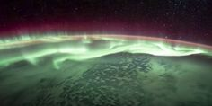 Incredible new #NASA video shows the southern lights from space - Business Insider #tlchat #space #astronauts #science #edchat