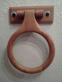 This towel rack is hungry, it wants you to feed it  your hand towels!