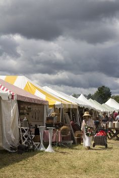 Luxurious Camping At The Bouckville AntiqueShow (Bouckville, NY) | And North | http://andnorth.com