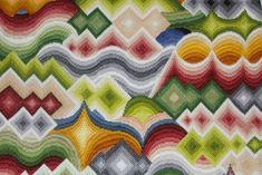 Bargello Patterns, Bargello Needlepoint, Bargello Quilts, Solar System Crafts, Cross Stitch Thread, School Projects, School Ideas, School Auction, School Fundraisers
