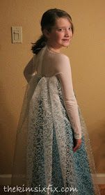 The Kim Six Fix: DIY Elsa Dress (From Frozen)