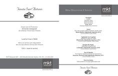 Souper-dégustation avec le Producteur Armando Castagnedi de la maison Tenuta Sant'Antonio  Lundi 9 Mai 2016 à partir de 18h  Menu six services avec dégustation des vins de la Maison Tenuta Sant'Antonio  120$ + taxes et service  RSVP (514)849-2044