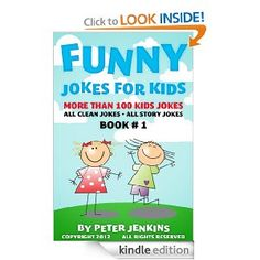 fun clean jokes for you kids to read and enjoy on you kindle or phone! Great fun for in the car!