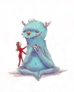 Monster Love by peterharren on Etsy, $18.00