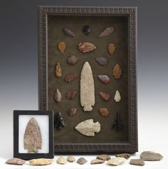 framed arrowheads - Google Search