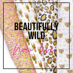 """Eliza Henri Craft Supply on Instagram: """"This gorgeous collection is now live online - head to new arrivals 🐆 . . . . . . .  . . . . . #fabriclaunchday #glitterbows…"""" Glitter Fabric, Craft Supplies, Bows, Live, Crafts, Beauty, Collection, Instagram, Arches"""