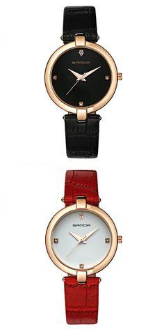 Fashion style ltd sanda p196 fashion women quartz watch elegant leather strap lady wrist watch #fashion #style #pictures #fashion #style #quotes #fashion #style #trends #rihannas #fashion #style