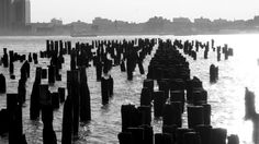 NYC 'Old Dock' Fine Art Print 8x10 B by EarthMoverPrints on Etsy, $15.00