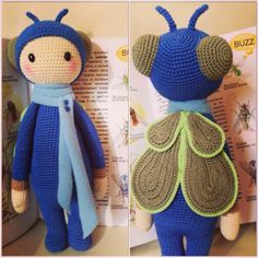 BUZZ the house fly made by Marina M. / crochet pattern by lalylala