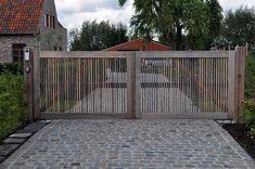 Houten poorten, weidepoorten, tuinschermen, palisades, kastanje hekwerk Beaum - Hardhouten poorten