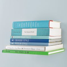 Upcycle old books into a new shelf!