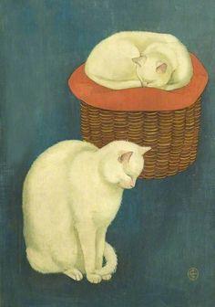 White Cats -  C. Brooke Derbyshire & Derby School Library Service