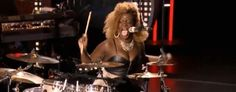 """Zoanette bangs the drums, blows minds  A couple weeks ago, on what was THE weirdest episode in """"American Idol"""" history, a bug-eyed, big-haired, booty-poppin' lady named Zoanette Johnson delivered perhaps the most controversial televised National Anthem performance since Roseanne Barr's...and somehow, against all odds and logic, she was granted a golden ticket to Hollyweird. And this Thursday, zany Zoanette wowed America again, when she shockingly advanced to this season's top 40."""