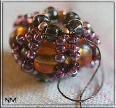 ravasz ékszerek gyöngy: szövött gyöngy bemutató | hogy kézzel készített, horgolt, kézműves