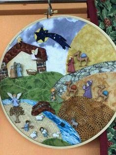 #decoraciondebaños Christmas Crafts, Xmas, Nativity Crafts, Hula, Pine Cones, Ideas Para, Portal, Applique, Kids Rugs