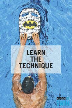 Learn the basic swimming technique Swim Technique, Swimming Strokes, Kids Swimming, Training Plan, Workout Fitness, Confident, Exercise, Goals, Sport
