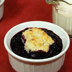 Blueberry Cobbler Recipe | Just A Pinch Recipes