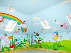Sacredart - Children's murals - Fairy Mural