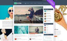 Extra is a Drag & Drop Magazine WordPress Theme developed by Elegant Themes. Extra WordPress Theme – The Ultimate Magazine WordPress Theme Powered by the Di Tema Wordpress, Wordpress Template, Premium Wordpress Themes, Wordpress Plugins, Ecommerce, Europe Train, Reading Themes, Themes Free, News Magazines