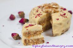 Raw Vegan Carrot Cake Piece