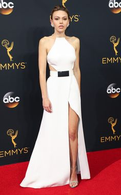 Aimee Teegarden: 2016 Emmys Red Carpet Arrivals