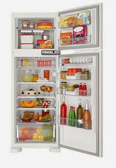Refrigerador Brastemp Frost Free Clean BRM39 352 Litros Branco, por R$ 1.399,00