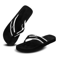 Really White Sox flip flops!! Love this