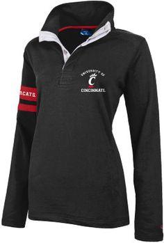 University of Cincinnati Bearcats Women's Rugby Pullover