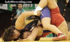 Schoolgirl Freestyle Wrestling in Public View
