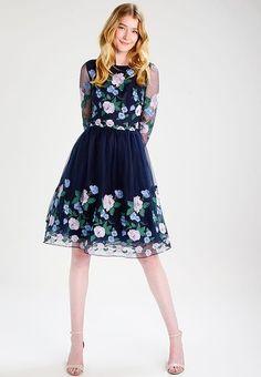 Chi Chi, Asos, London, Navy, Formal, Skirts, Wedding, Vintage, Outfits