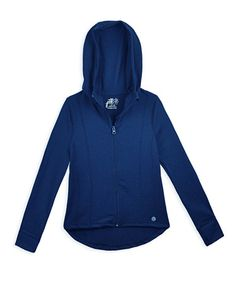 Girls Hooded Yoga Jacket Jack And Jill, Fall Collections, New Girl, Hooded Jacket, Hoods, Athletic, Girls, Jackets