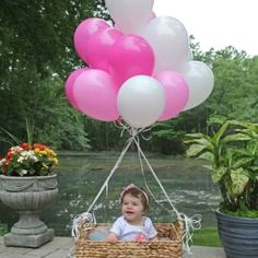 1st girls birthday photos have a number one she can hold talk about cute!