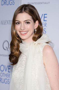 Anne Hathaway is stunning actress. Favorite movies with her is: Les Miserables, One day, Love & other drugs, Bride wars, Becoming Jane, The devil wears prada, The princess diaries.