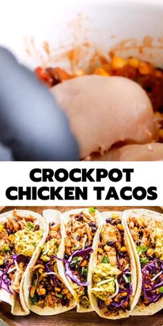Crock Pot Tacos, Crockpot Chicken For Tacos, Crockpot Recipes For Summer, Southwest Chicken Crockpot, Crockpot Chicken And Stuffing, Dinner Crockpot Recipes, Crockpot Recipes Gluten Free, Chicken Crock Pot Meals, Chicken Tenders Crockpot