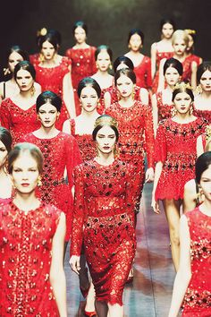DOLCE & GABBANA - READY TO WEAR - FALL WINTER 2013 - MILAN by {this is glamorous}, via Flickr