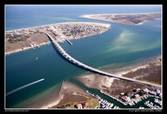 Vilano Bridge, St Augustine, Florida