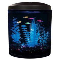 glowy fish and tank!