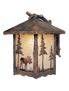Add a rustic flair with @Hammerton Lighting's mountain meadow outdoor line.