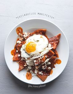 Chilaquiles are the perfect Mexican breakfast