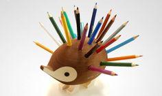 Hedgehog Pencil Holder | DROOL'D
