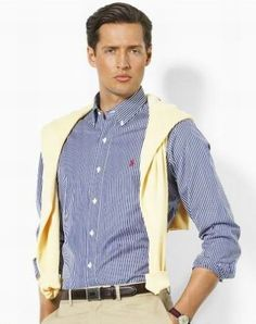 $39.99  http://www.ahappyorder.com/polo-ralph-lauren-shirts-1003005-1/polo-ralph-lauren-small-pony-striped-shirts-2760.htm