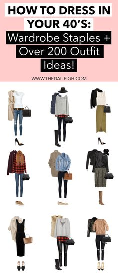 How To Dress Over 40 | Fashion Tips for Women In their 40's | Winter Fashion | Outfit Ideas