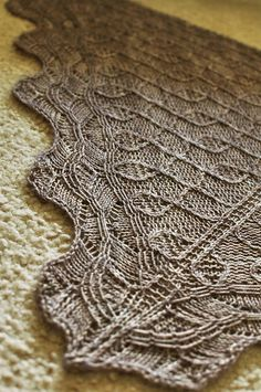 cobble shawl from kitman figueroa  (knit one pearl two Deb)