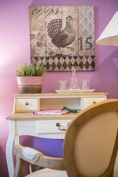Pink Room, Room Interior, Rooms, Interiors, Purple, Bed, Bedrooms, Decorating, Viola