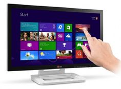 LG apresenta monitor ET83, sensível ao toque, para usuários de Windows 8